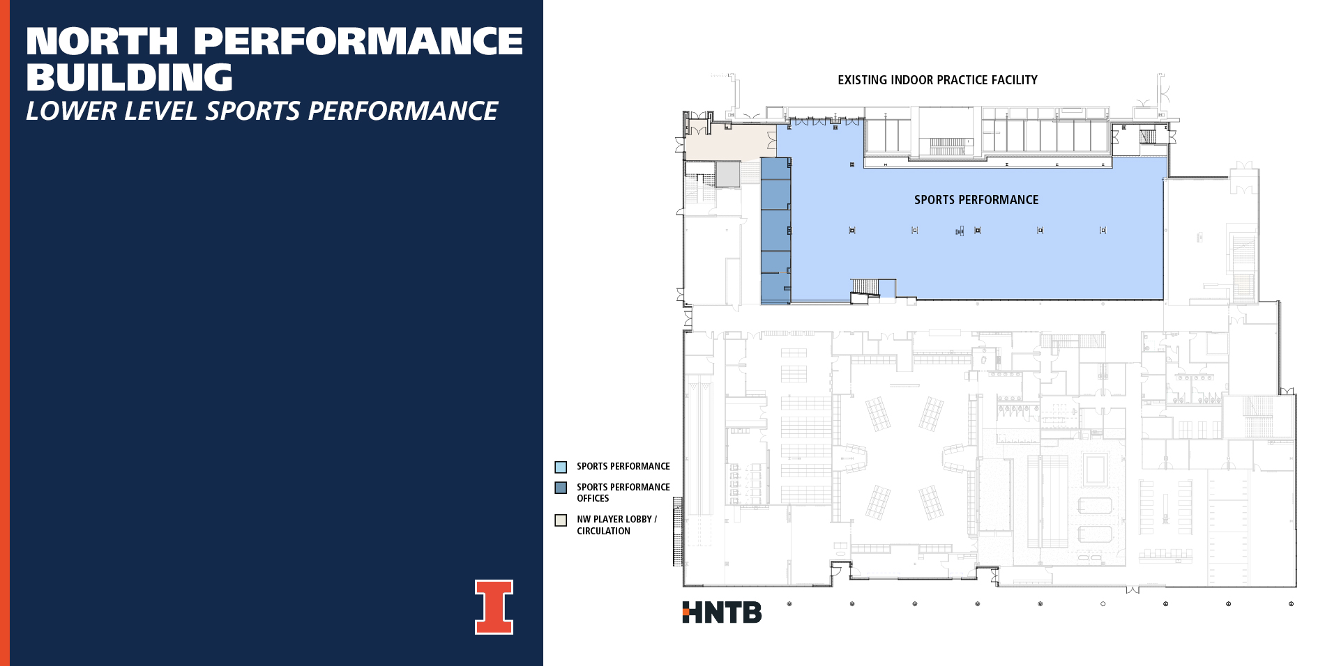 Illinois Football North Performance Center Weight Room